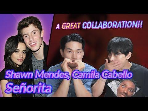 K-pop Artist Reaction Shawn Mendes Camila Cabello - Señorita