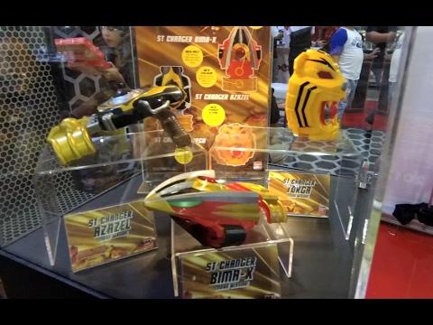 Merchant and Toys Satria Heroes (Bima X) @Jakarta Toys Fair 2017