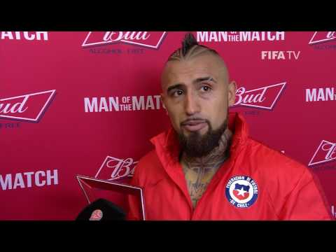 Arturo Vidal: FIFA Man of the Match - Match 3: Cameroon V Chile