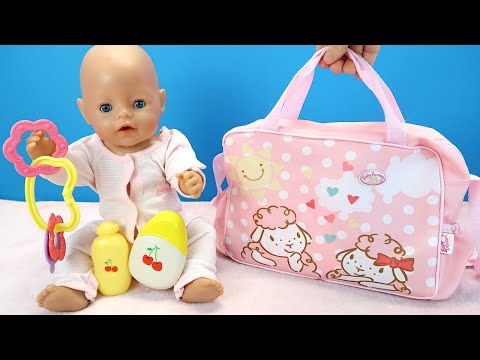 #Куклы СОБИРАЕМ НА УЛИЦУ Беби Бон Мультик для детей Игрушки для девочек 108мама тв