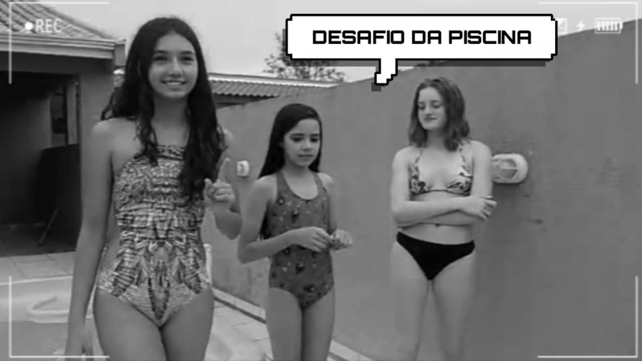 DESAFIO DA PISCINA   COMPLETE A MUSICA! (parte 2 )