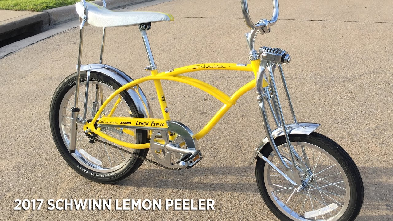 2017 Schwinn Lemon Peeler Bicycle Unboxing And Review Youtube