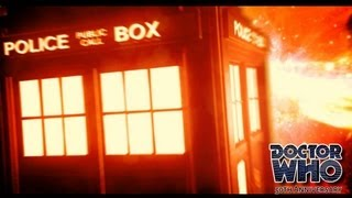 Repeat youtube video DOCTOR WHO 2013 TITLE SEQUENCE Fan Cinematic intro