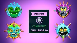 KNIFE HIT | MONSTER CHALLENGE | ALL BOSSES