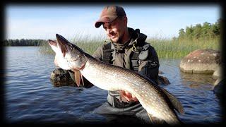 Рыбалка в Финляндии * Ловля щуки на спиннинг * Haugi Püük Soomes