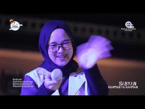 SABYAN - RAHMAN YA RAHMAN // FESTIVAL AL-A'ZHOM 2018 // KOTA TANGERANG