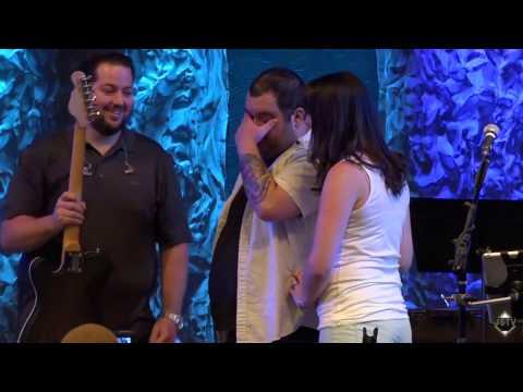 """""""Don't Lose Hope"""" - Worship Leader Brandon Sessler gets huge surprise while serving this Sunday."""