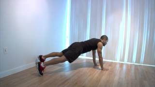 Plank Punches: Cardio/core/upper Body Exercise
