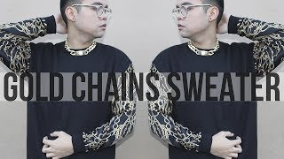 DIY: Gold Chains Sweater! Thumbnail