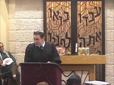 Latke Hamentashen Debate 2012 - Hamentashen - Hazzan Klein