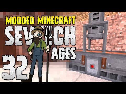 Minecraft SevTech: Ages | 32 | POWER GENERATION! | Modded Minecraft 1.12.2