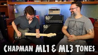 Chapman ML1 Standard Traditional & ML3 Pro Traditional Tones