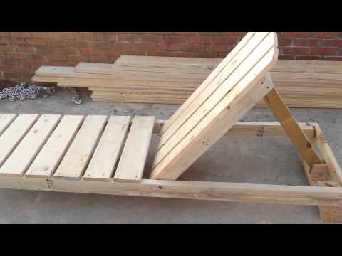 How To Build A Chaise Lounge Pool Chair Part 1 Youtube