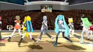 (MMD) Kara - Mister (Korean Version) - Vocaloids Sing K-Pop (Korean Pop and Dance Choreagraphy)