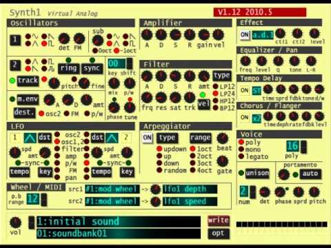 Vstplanet synth 1 patches