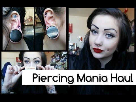PiercingMania Haul - Helix And Tragus Jewellery | Lilithas Bones