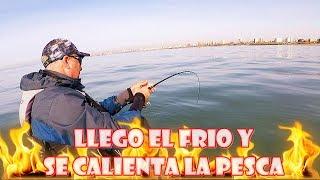 COMIENZA EL FRIO INVIERNO Y LA PESCA EN KAYAK  SE PONE CALIENTE !!