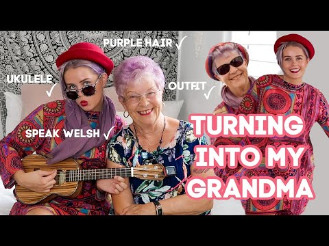 I TURNED INTO MY GRANDMA FOR THE DAY!