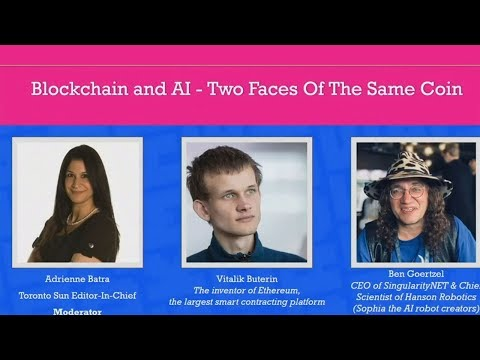 Dr. Ben Goertzel and Vitalik Buterin Discussion at the Crypto Chicks Blockchain & AI conference