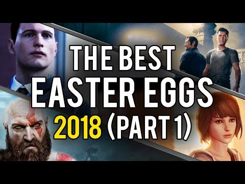 The Best Video Game Easter Eggs and Secrets of 2018 (Part 1)