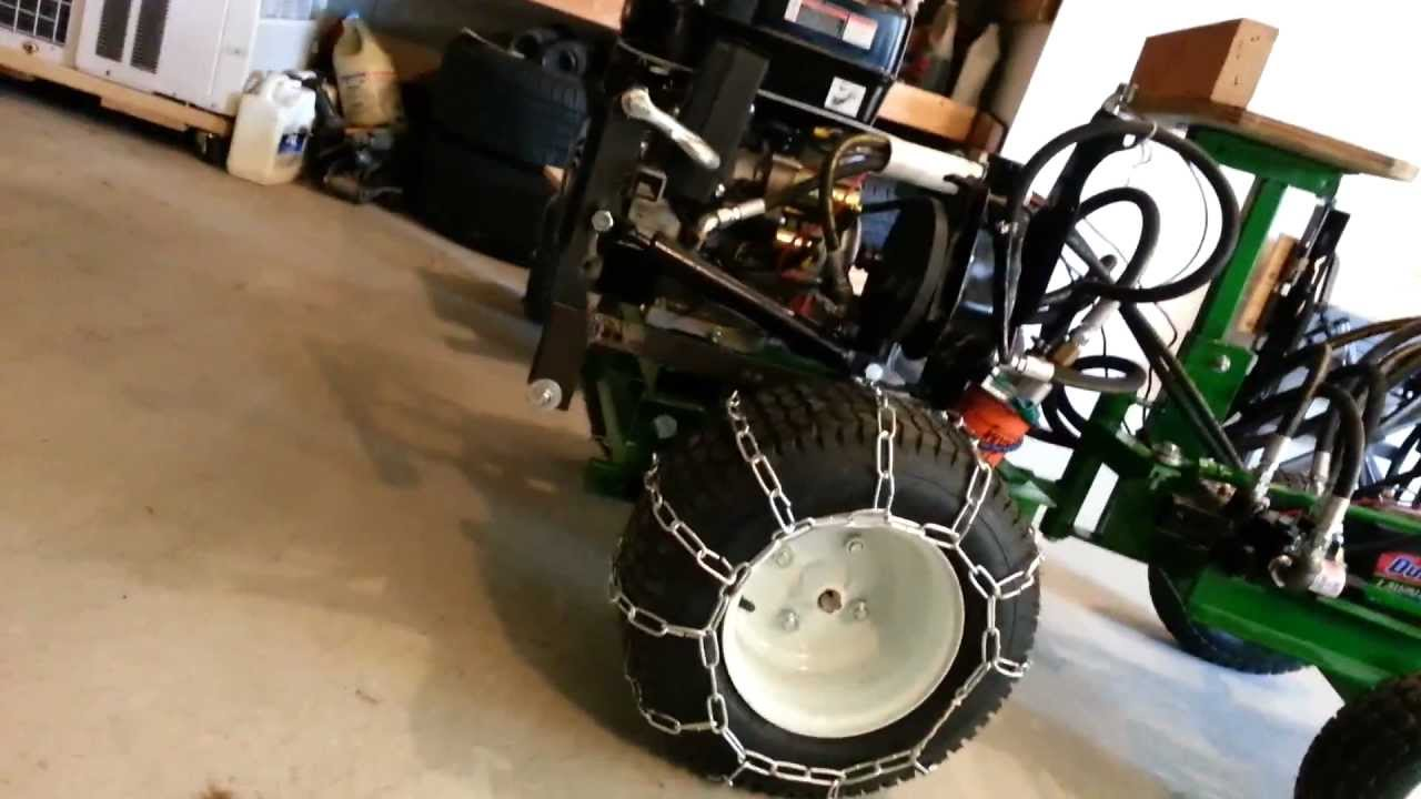 Homemade Tractor And Tire Chains Youtube