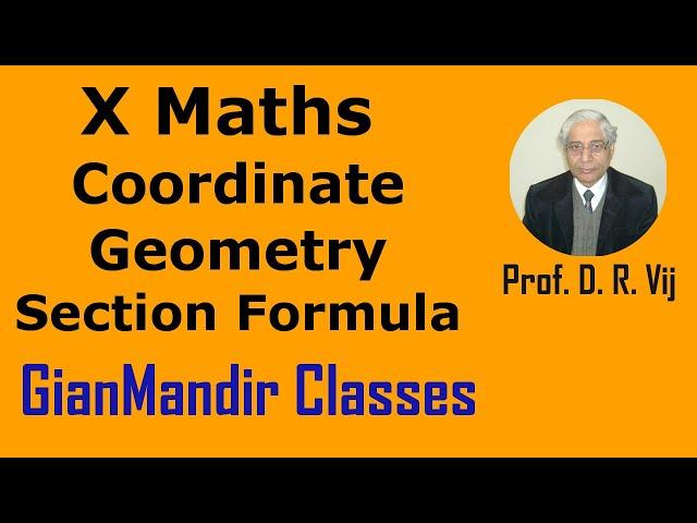 X Maths | Coordinate Geometry | Section Formula by Preeti Ma'am