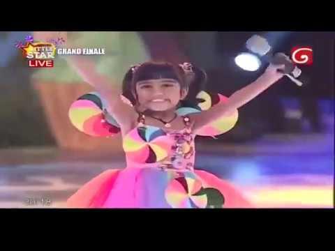 Download Derana Little Star 9 Grand Final  24th November 2018 Under 8 Most Popular / Runners up Aksha Chamudi