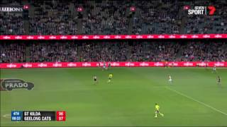St Kilda v Geelong Cats - Last two minutes