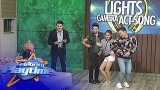 Celebrity Playtime: Lights Camera Act-Song