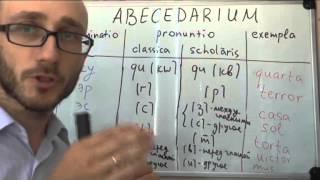 Латинский алфавит и сочетания. Классическое и школьное произношение