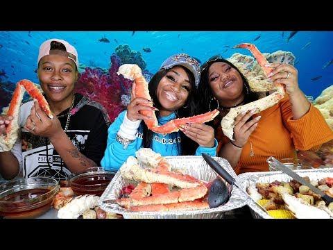 Seafood Boil with My Bloveleez; Myasha & Nadejah