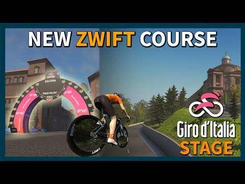 Brand New Giro d'Italia Zwift Course Released - Full Stage