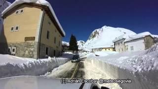 Gran KDD Invernal, Nevadón Histórico, Febrero 2015; Maraña, Acebedo, Portilla de La Reina León 9 de