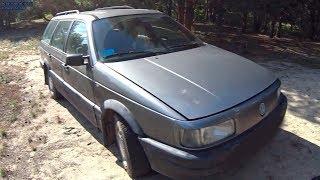 Volkswagen Passat B3 1989г / Самый народный автомобиль пассат б3