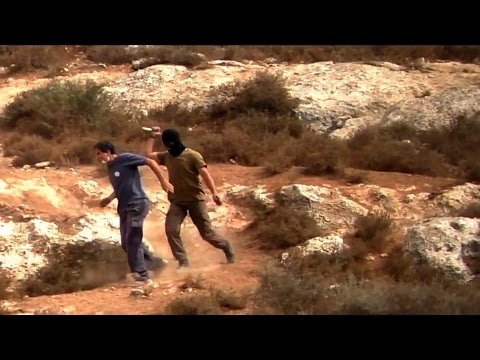 Knife-Wielding Israeli Settler Attacks Founder Of Rabbis For Human Rights