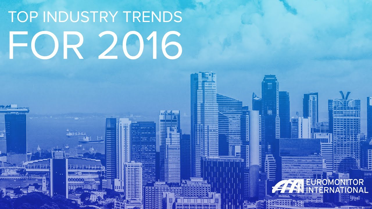 Top Industry Trends for 2016 - YouTube