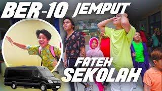 Download lagu Rusuh Jemput Fateh Hari Pertama Sekolah Ber-10, Bikin Histeris Satu Sekolah