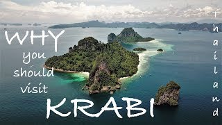 #33. This is WHY you visit KRABI, THAILAND 2017 | DJI Mavic