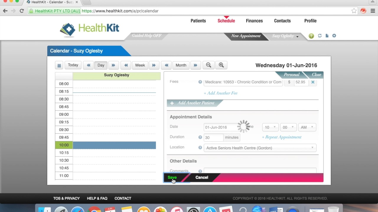 Healthkit Login And Basic Functions Dropbox Training Video