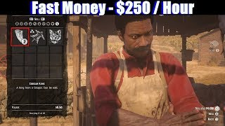 RDR2 Online - Fast Money $250 / Hour Cougar Hunting - Red Dead Redemption 2 PS4 Pro