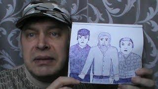 Мои рисунки в тетради, видео обзор