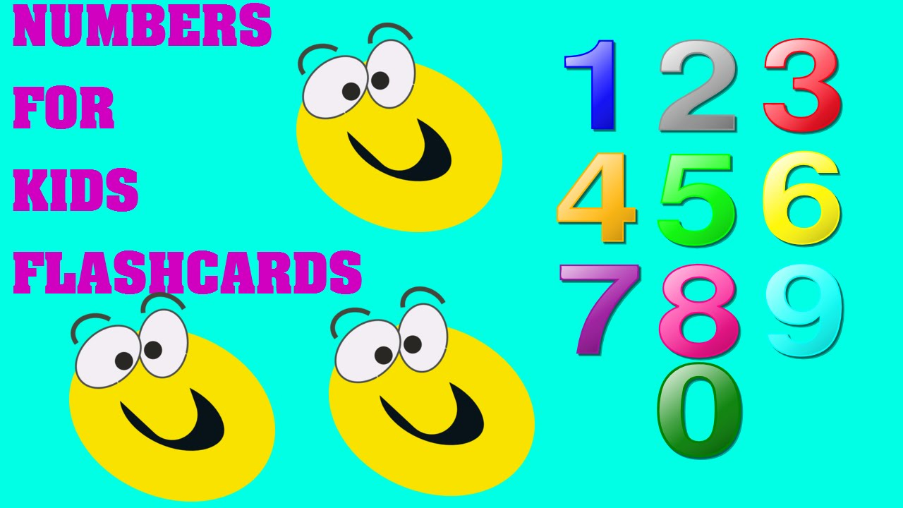 Learning numbers 1 to 12 pre kindergarten Pre K Counting Numbers 1 ...