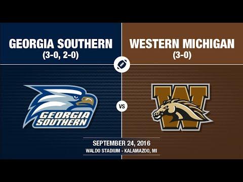 2016 Week 4 - Georgia Southern at Western Michigan
