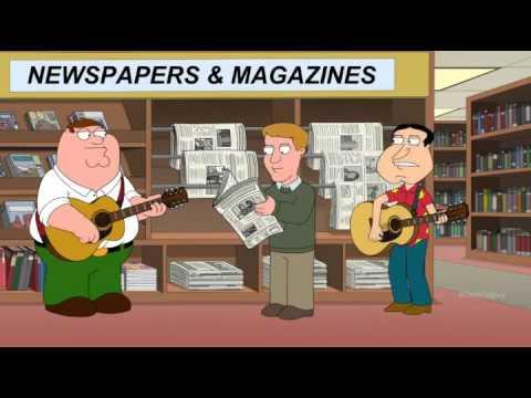 Peter Griffin & Glenn Quagmire - I can't poop in strange places