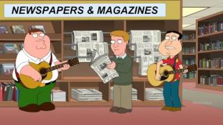 Peter Griffin & Glenn Quagmire - I can't poop in strange places