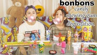 BONBONS SUEDOIS!!! DEGUSTATION!! SWEDENS CANDIES!!!