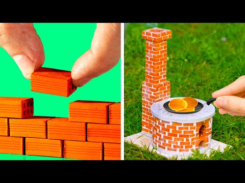 MINIATURE CRAFTS || 20 Cute And Useful DIYs And Decor Ideas