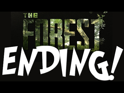 BEST ENDING EVER! | The Forest #4 / ENDING (Live Streamed)