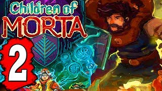 CHILDREN OF MORTA: Walkthrough Part 2 LOST TRENCHES Dungeon  Completed - Creature Boss Defeated