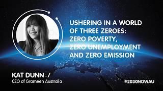 Kat Dunn, CEO Australia of Grameen Australia